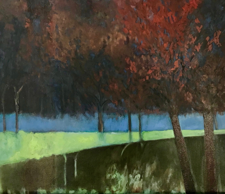'Vermont in the Fall ', 19 cm h x 25 cm w